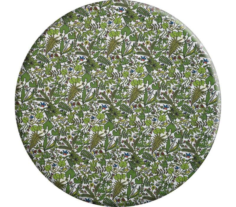 Rond Tafelkleed Gecoat - Ø 140 cm - Tropenkolder groen