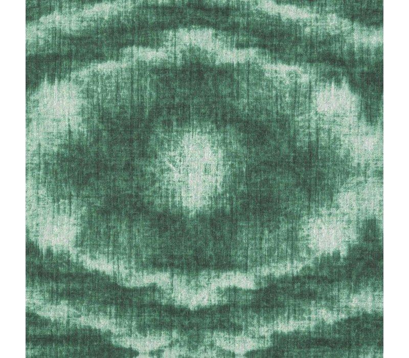 Rond Tafelkleed Gecoat - Ø 140 cm - Tie Dye Groen
