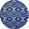 MixMamas Rond Tafelkleed Gecoat - Ø 140 cm - Tie Dye Indigo Blauw