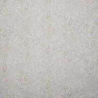 Rond Tafelkleed Gecoat - Ø 140 cm - Paisley - Beige