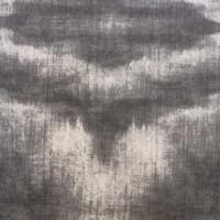 Rond Tafelkleed Gecoat - Ø 140 cm - Tie Dye Grijs