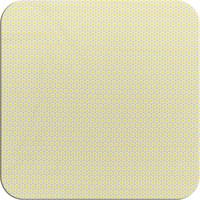 Tafelzeil 140 x 250 cm - Oogjes - Grijs/Geel