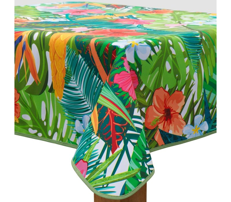 Vierkant Tafelzeil - Ø 140 cm - Paradise Jungle