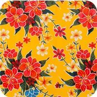Mexicaans Tafelzeil Fortin - 120 x 250 cm - Geel