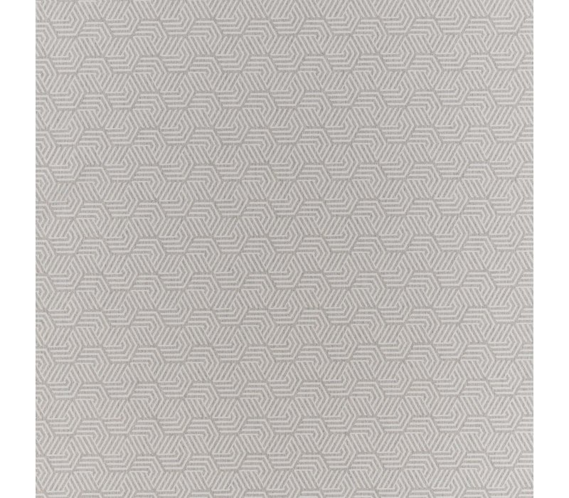 Tafelkleed Gecoat Jacquard Seamless Hexagon – 140 x 250 cm –  Grijs