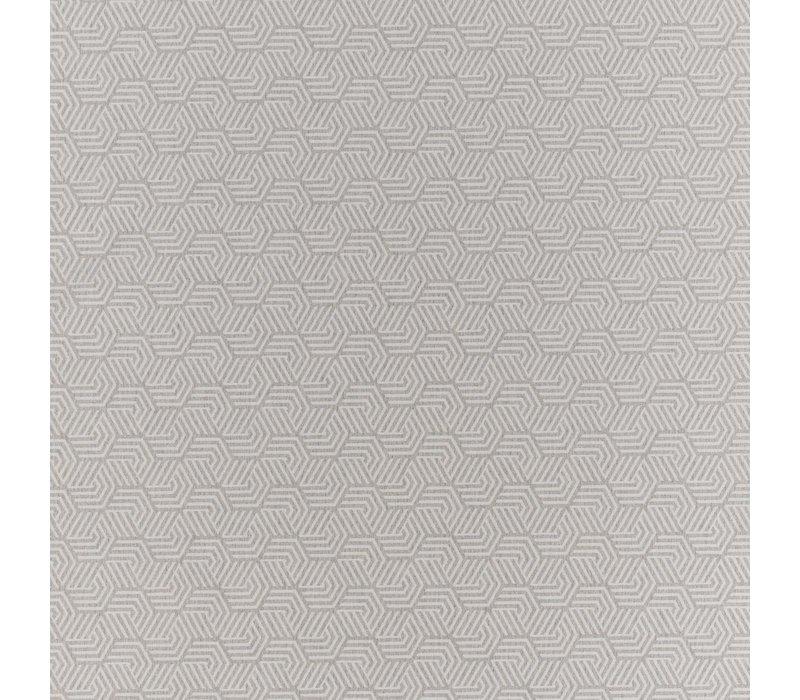 Rond Tafelkleed Gecoat Jacquard- Ø 180 cm – Seamless Hexagon