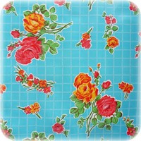 Tafelzeil Rozendal - 120 x 180 cm - Blauw