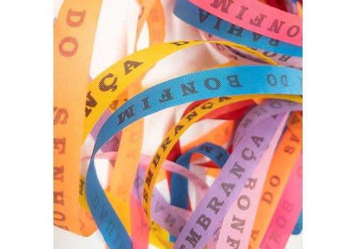 MixMamas Bonfim lint - Set van 28 Bonfim Lintjes 43 cm - Multicolor