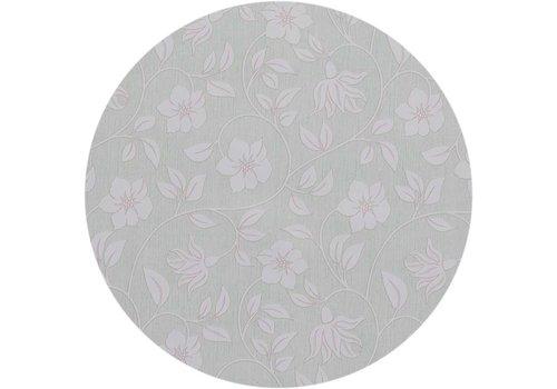 MixMamas Rond Tafelzeil - Ø 140 cm - Strakke bloem - groen