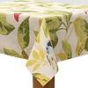 MixMamas Tafelkleed Gecoat Tropische Bladeren & Vogels - 140 x 250 cm