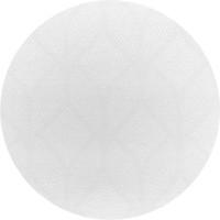Rond Tafelkleed Gecoat Jacquard - Ø 180 cm -Ogee - CrèmeWit