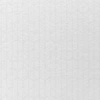 Tafelkleed Gecoat Jacquard Striped Hexagon – 140 x 300 cm – Wit