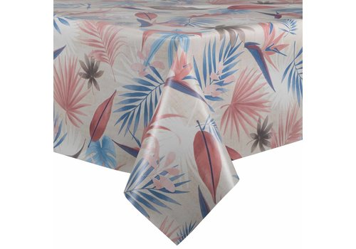MixMamas Tafelzeil - 140 x 250 cm -  Tropical - roze
