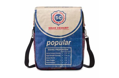 Urban messenger cement blauw