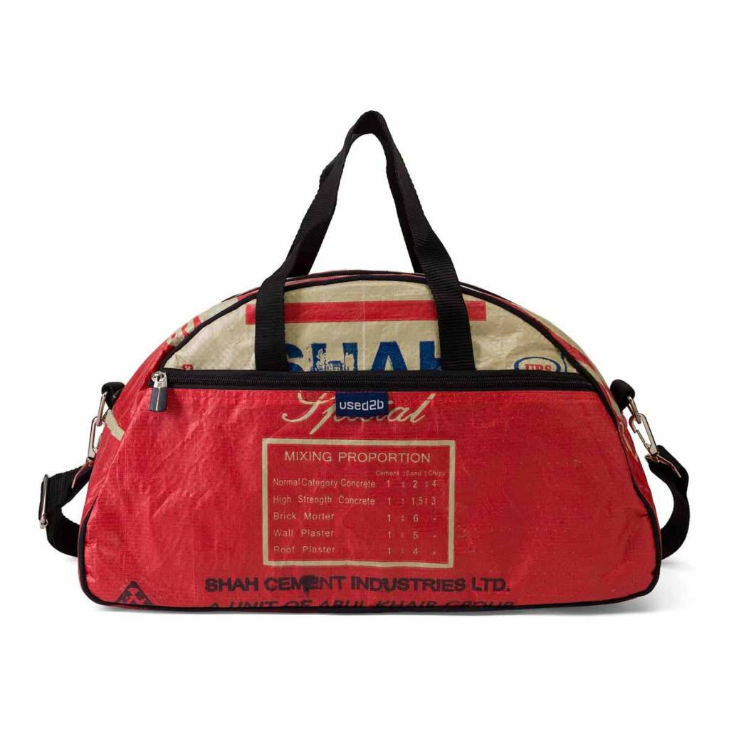 Used2b Gym cement bags Shah red