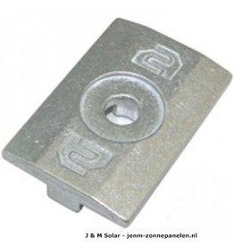 Clickfit Module Klemplaat aluminium