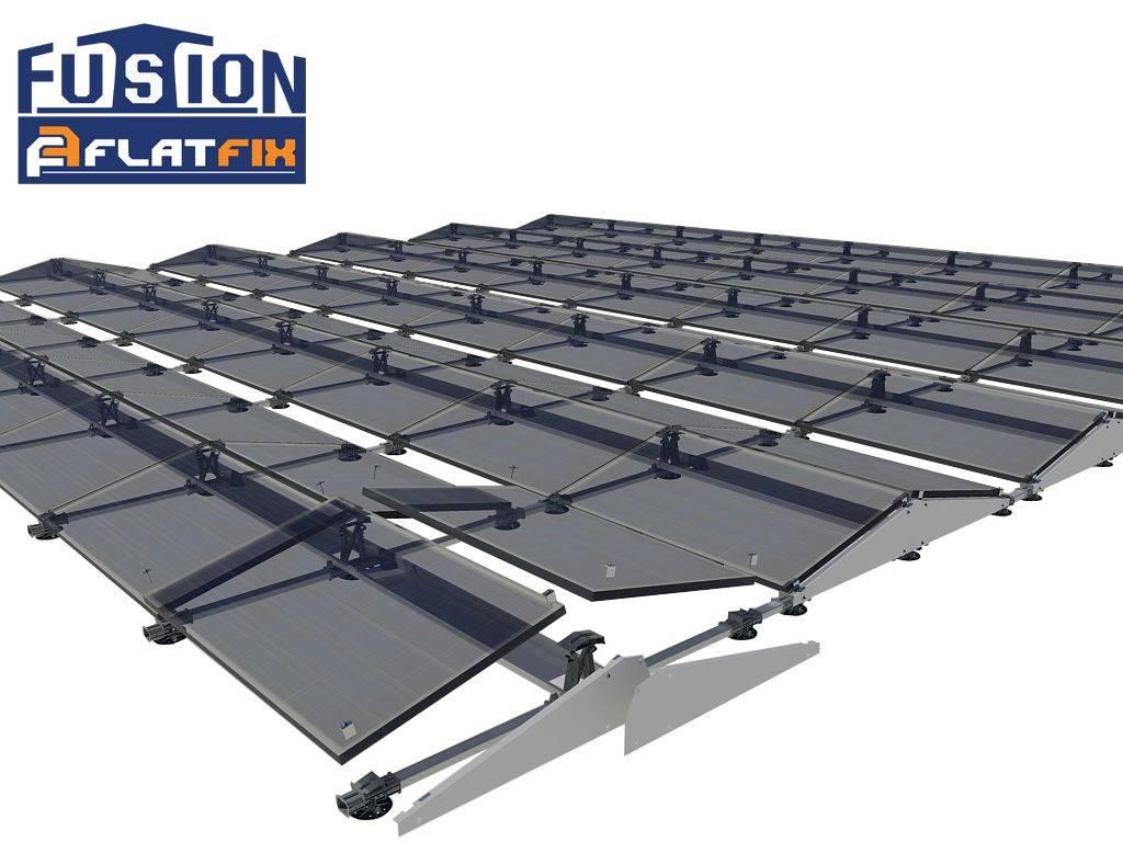 Flatfix Fusion Flatfix fusion sets oost/west zwart