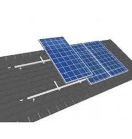 Van der Valk solar systems Set 1 rij van 4 zonnepanelen portrait