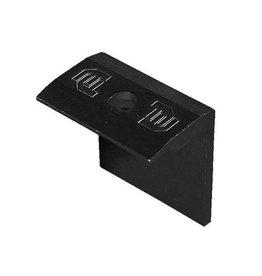 Flatfix Flatfix eindklem 35mm zwart