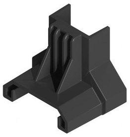 Clickfit Evo ClickFit Evo -Eindklemsteun staaldak zwart
