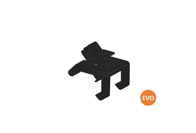 Clickfit Evo 1008062 - ClickFit Evo Montagerail Kabelclip optimizer ready