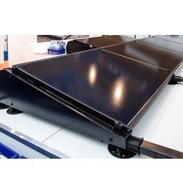 Flatfix Fusion set 2 rijen van 3 panelen zwart