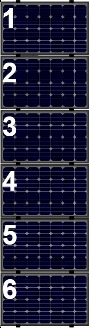 Clickfit Evo sets Clickfit EVO set rij van 6 panelen Landscape zwart