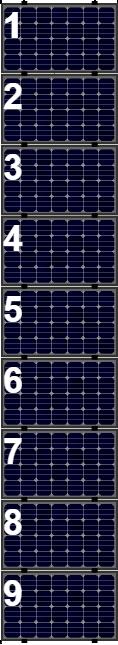 Clickfit Evo sets Clickfit EVO set rij van 9 panelen Landscape zwart