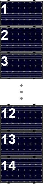 Clickfit Evo sets Clickfit EVO set rij van 14 panelen Landscape zwart