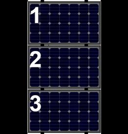 Clickfit Evo sets Clickfit EVO set rij van 3 panelen Landscape zwart