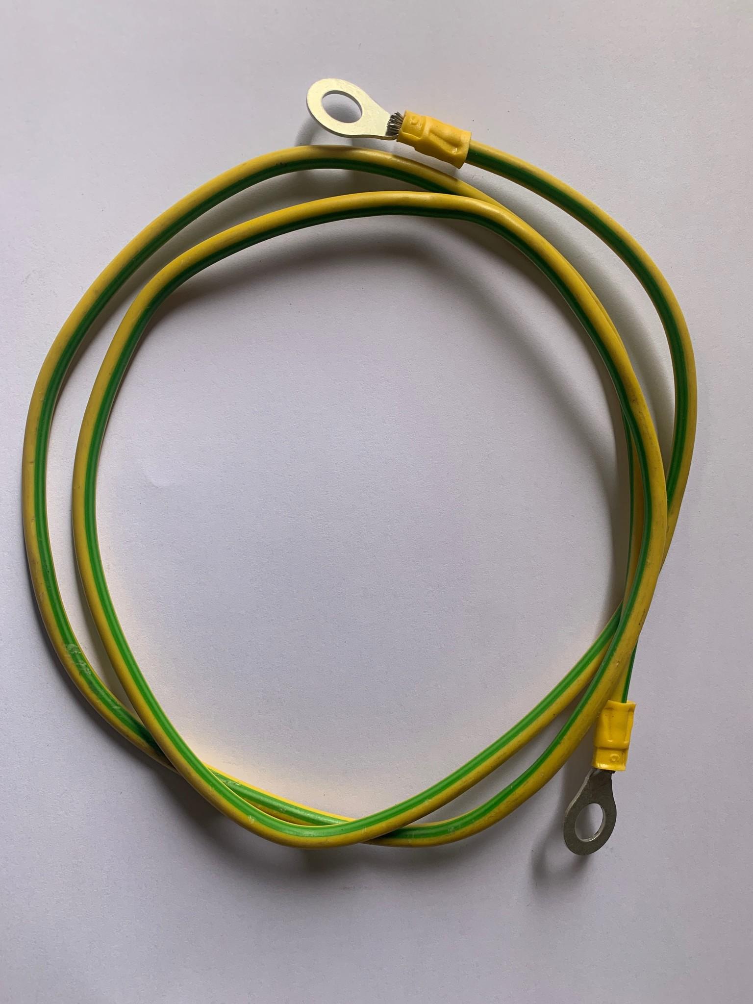 Aarde kabel Aardekabel 7 meter + M8 oogschoenen
