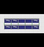 Flatfix Fusion sets Flatfix Fusion set 2 rijen van 5 panelen aluminium