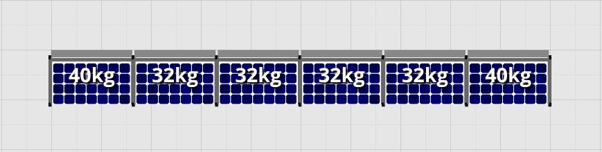 Flatfix Fusion sets Flatfix Fusion set 1 rij van 6 panelen aluminium