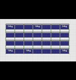 Flatfix Fusion sets Flatfix Fusion set 4 rijen van 7 panelen aluminium