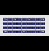 Flatfix Fusion sets Flatfix Fusion set 4 rijen van 9 panelen aluminium