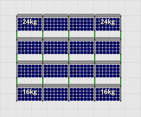 Flatfix Fusion sets Flatfix Fusion set 4 rijen van 4 panelen aluminium