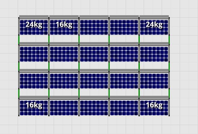 Flatfix Fusion sets Flatfix Fusion set 4 rijen van 5 panelen aluminium
