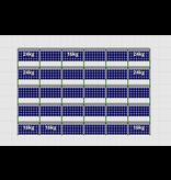 Flatfix Fusion sets Flatfix Fusion set 5 rijen van 6 panelen aluminium