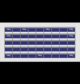 Flatfix Fusion sets Flatfix Fusion set 5 rijen van 9 panelen aluminium