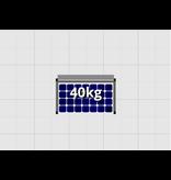 Flatfix Fusion sets Flatfix Fusion set 1 rij van 1 paneel zwart