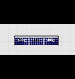 Flatfix Fusion sets Flatfix Fusion set 1 rij van 3 panelen zwart