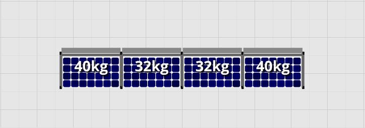 Flatfix Fusion sets Flatfix Fusion set 1 rij van 4 panelen zwart