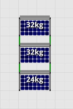 Flatfix Fusion sets Flatfix Fusion set 3 rijen van 1 paneel zwart