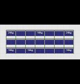 Flatfix Fusion sets Flatfix Fusion set 3 rijen van 7 panelen zwart