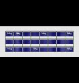 Flatfix Fusion sets Flatfix Fusion set 3 rijen van 8 panelen zwart