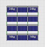 Flatfix Fusion sets Flatfix Fusion set 4 rijen  van 3 panelen zwart