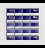 Flatfix Fusion sets Flatfix Fusion set 5 rijen van 4 panelen zwart