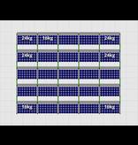 Flatfix Fusion sets Flatfix Fusion set 5 rijen van 5 panelen zwart