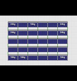 Flatfix Fusion sets Flatfix Fusion set 5 rijen van 6 panelen zwart