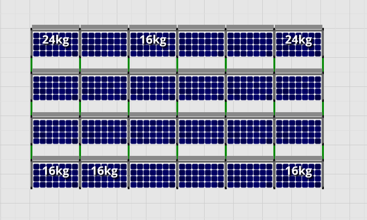 Flatfix Fusion sets Flatfix Fusion set 4 rijen van 6 panelen zwart